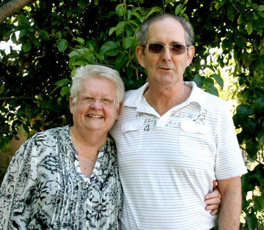 Lyn & Ian Mitchell Xmas 2012