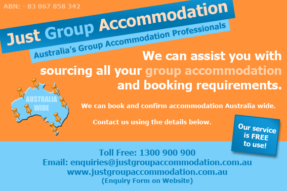 Group Accommodation Australia wide