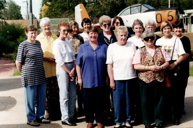 WRAAF Reunion at East Sale 1999 Group