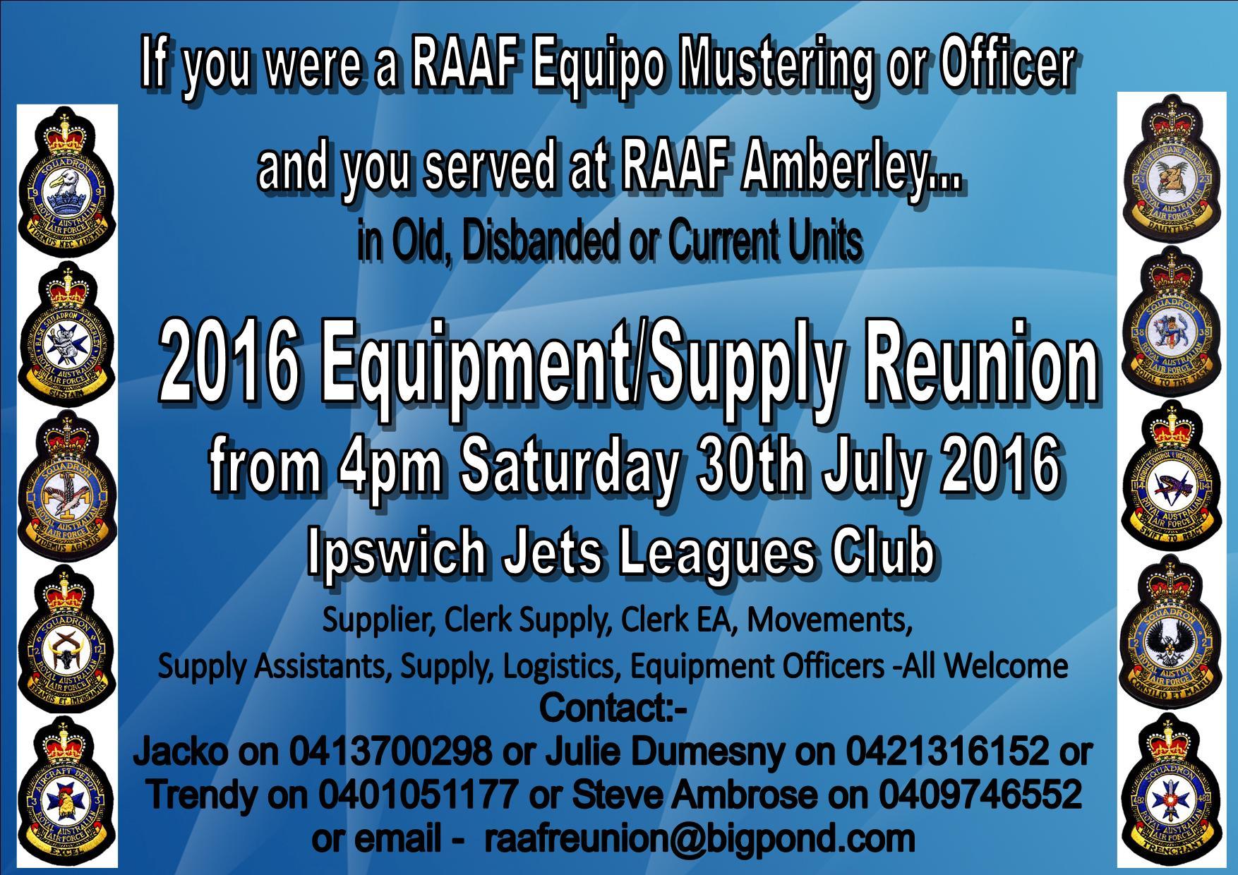 Equipment Supply Reunion 2016