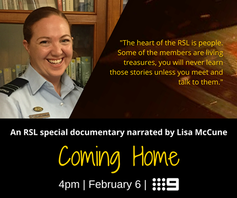Lisa McCune coming home